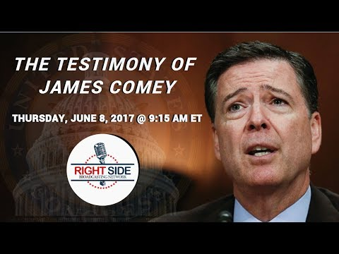 LIVE: Former FBI Director James Comey Testimony Before Congress on Trump-Russia 6/8/17