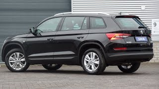 Skoda NEW Kodiaq 2019 Ambition Black Magic Pearl 18 inch Triton walk around & detail inside