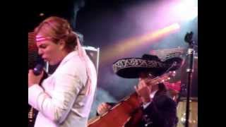 Yo no me caso compadre - Cristian Castro (En vivo - Rosario abril 2012)