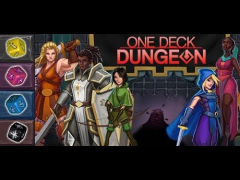 Let's Try: One Deck Dungeon - Dice-Based Dungeon-Crawling! - Part 2