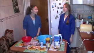 COOKING, with Alina and Iulia - English Project