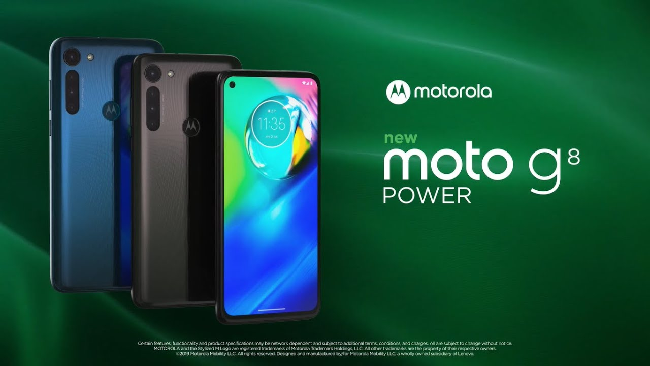 Motorola G8 Power Trailer Introduction HD