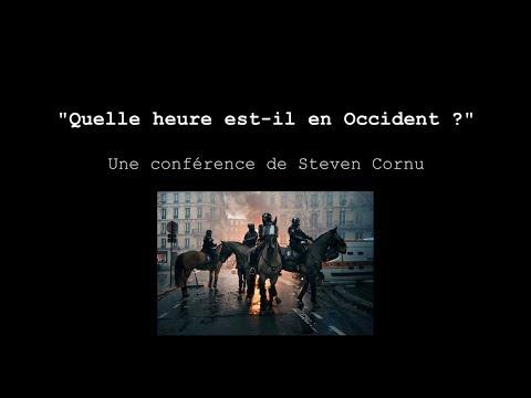 """""""Quelle Heure Est-il En Occident?"""" - Retour Sur Oswald Spengler Par Steven Cornu"""
