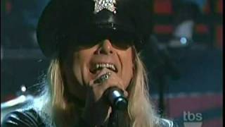 Cheap Trick - Dream Police Live on Conan - 1/13/11