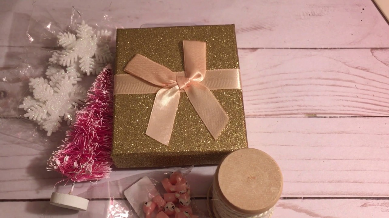 Altered Dollar Tree Gift Card Box - YouTube