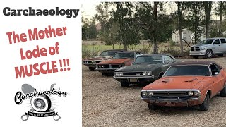 Carchaeology: Insane Muscle Car Stash