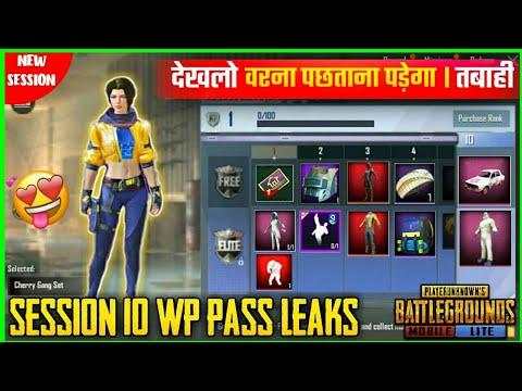 Download  Pubg Mobile Lite Session 10 Winner Pass Leaks || New Session 10 WP Elite Pass  Leaks || Gratis, download lagu terbaru