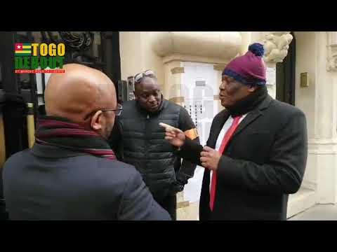 #TogoDebout Lucien HOUNKALI (ANC) dénonce la discrimination au bureau de vote à Paris où est Trimua