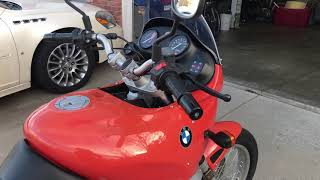 1997 BMW F650ST review
