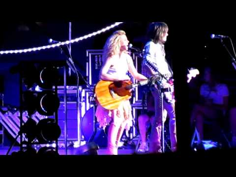 The Band Perry - Walk Me Down The Middle - The Great Allentown Fair - August 31, 2012