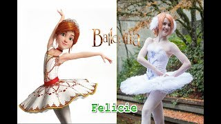 Leap Ballerina Characters in Real Life - All Characters 2018 - OMG Kids