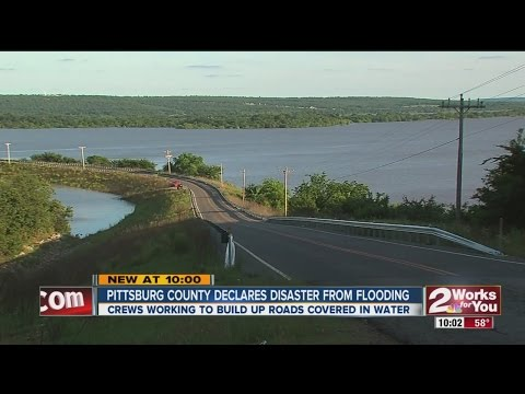 Pittsburg County Declares Disaster From Flooding