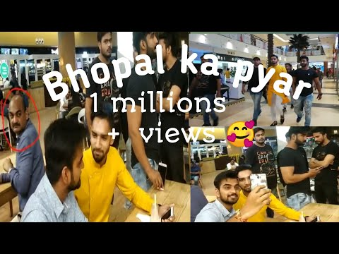 In Mall with 6 Bodyguards | Celebrity Prank | Public Reaction | DB Mall #BHOPAL