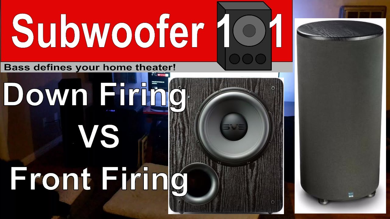 Down Firing VS Front Firing Subwoofers (What REALLY Matters!!)