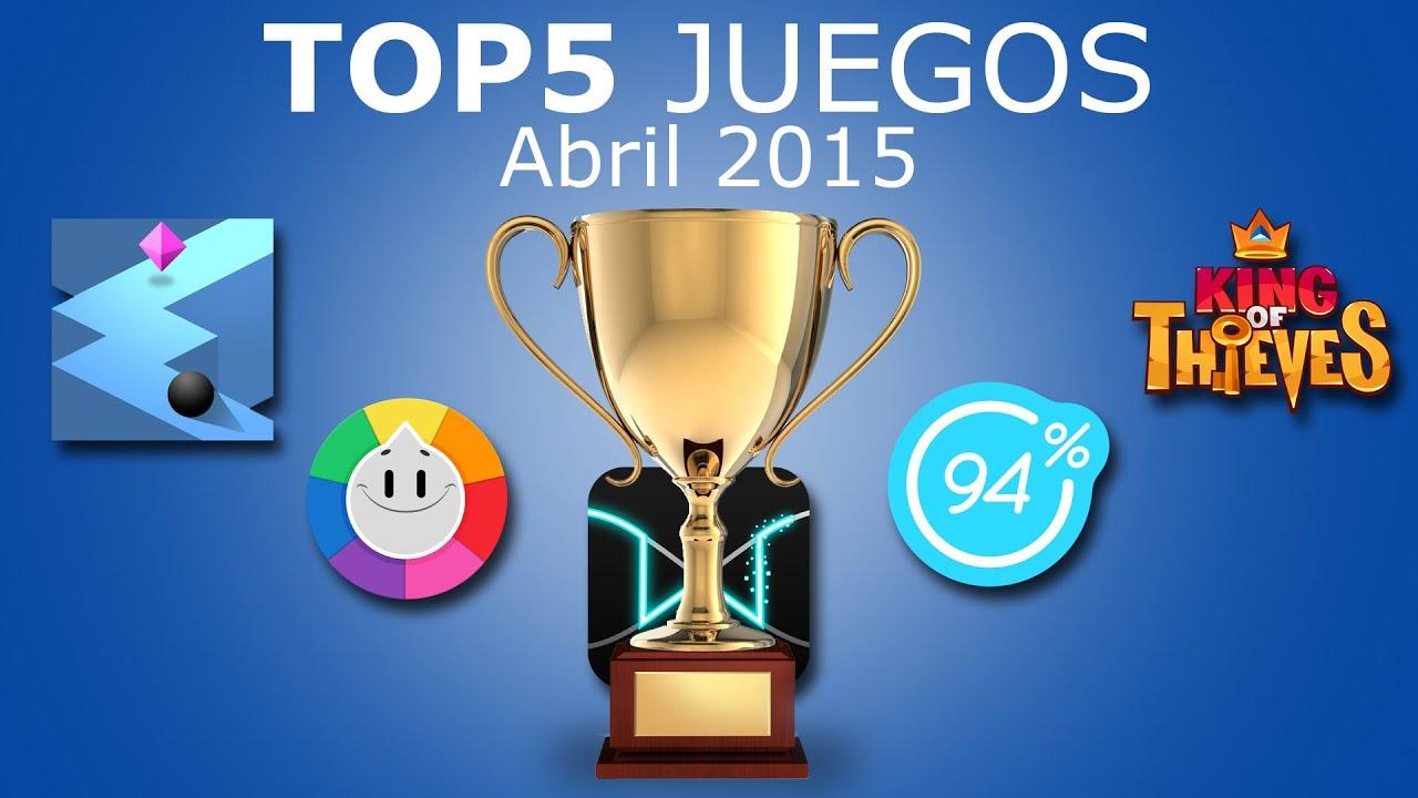 Top 5 Mejores Juegos Gratis Para Movil Android E Ios Abril 2015