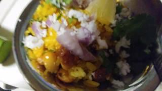 Poha Recipe/Beaten Rice Breakfast Recipe