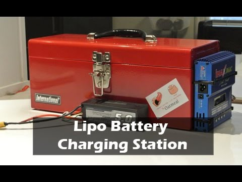 Lipo Battery Toolbox Bunker Charger Youtube
