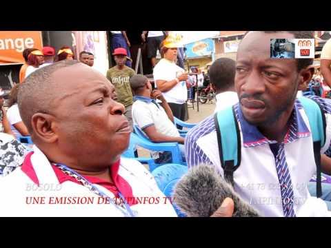 Kinshasa: THOMSPORT MATCH YABA COMEDIEN 2017