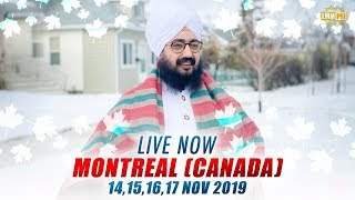Live Streaming | 🇨🇦Montreal QC Canada 🇨🇦| 16 Nov 2019 | Dhadrianwale