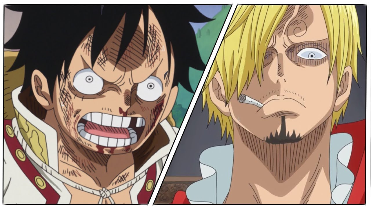 one piece sanji and luffy - Anime Top Wallpaper