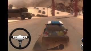 RALLY POINT 5 | DESERT RACE LEVEL1-3 | CAR RACING GAMES  WALKTHROUGH