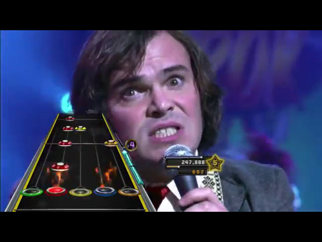 Clone Hero 100% FC: School of Rock (with video background)