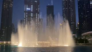 Dubai Dancing Fountain Show 2021   nouella jane