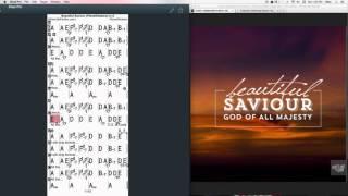 Beautiful Savior Chords at MyPartitur - PlanetShakers