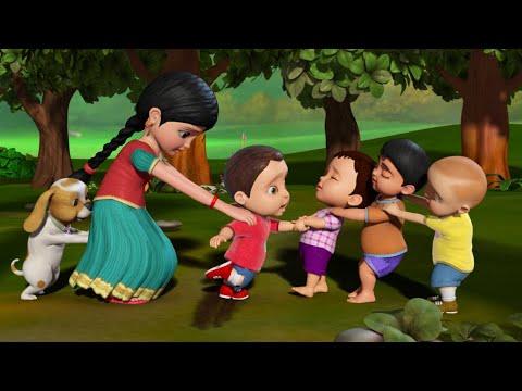 Download பூப்பறிக்க வருகிறோம் - Traditional Tamil Games   Tamil Rhymes for Children   Infobells