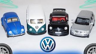 Мультик про машинки VOLKSWAGEN. Учим Марки машин. Развивающий мультик. Cars Cartoon