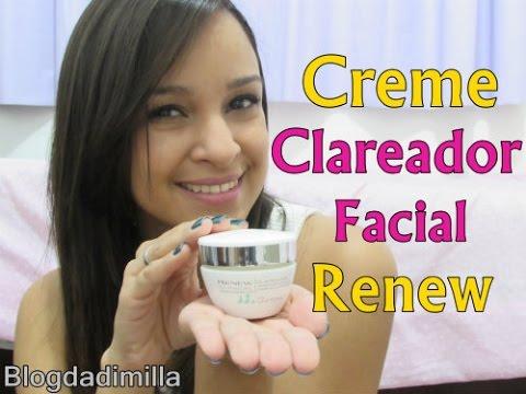 Creme Clariador Facial Renew - Vale à Pena Compra? Realmente Clareia?