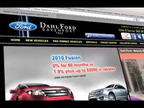Quad Cities Dealership Ford Edge Dahl Ford