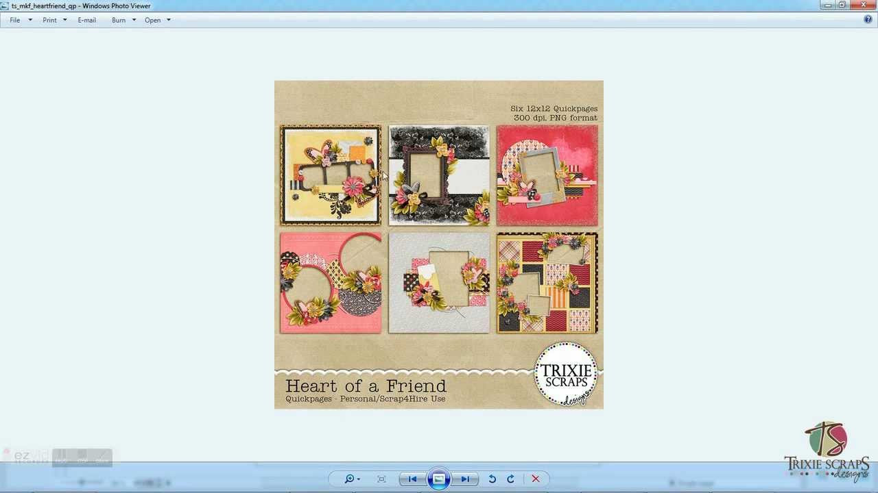 Using Quickpages In Storybook Creator Digital Scrapbook Tutorial