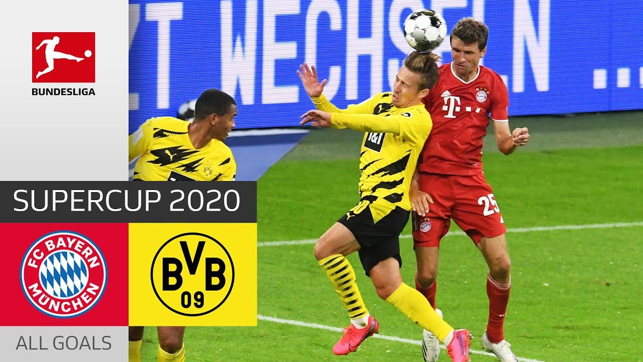Download FC Bayern München - Borussia Dortmund | 3-2 | All Goals | Supercup 2020
