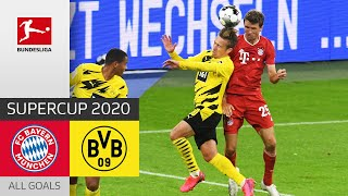 FC Bayern München - Borussia Dortmund | 3-2 | All Goals | Supercup 2020