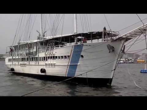 40 M Schooner arriving at Kali Adem Port 2, Jakarta, Indonesia