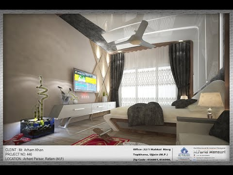 4k 360 View Bed Room Interior Design