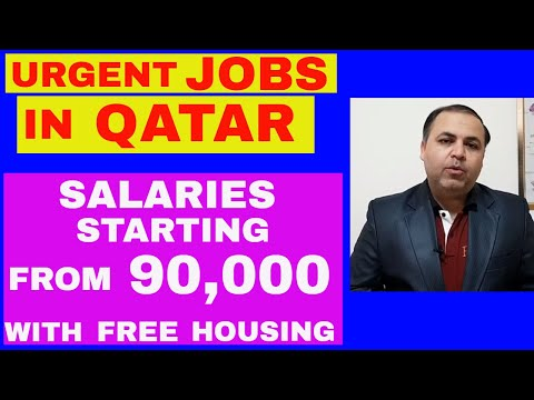 Jobs in Qatar 2019 || Free Jobs Announced || Salary starting from 90,000 Rs || Jobs in Dubai