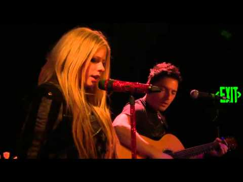 Avril Lavigne - Live JustFab.com Viper Room (LA) 14/03/2012