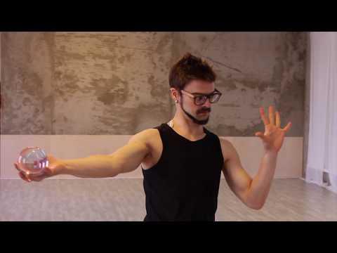 Контактное жонглирование для