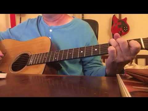 Dinosaur (Hank Williams Jr) Guitar Lesson Easy Strum Chords Tutorial ...