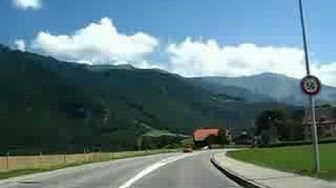 Switzerland 17 (Camera on board) Bulle (FR), La Tour-de-Treme, Gruyeres [HQ]