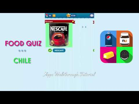 Food Quiz Chile Pack 1 - All Answers - Walkthrough
