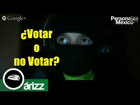 Votar contra el PRI, por el menos malo o NO votar.