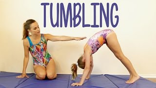 Tumbling Tutorial! Gymnastics at Home, Tricks, How to, Routine Exercises