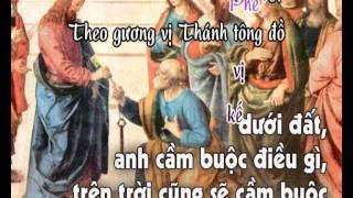 Lạy Đức Kitô (CN21A) - karaoke playback - http://songvui.org