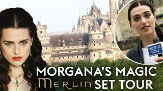 Morgana Gives Us A 'Merlin' Set Tour