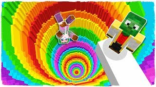 MINECRAFT - GRAVITY BECOMES CRAZY IN THIS EXTREME DROPPER!