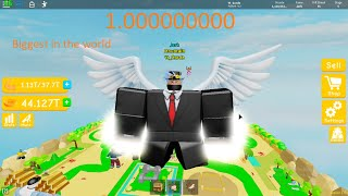 I Become The Biggest With This Secret Fitness Workout In Roblox Lifting Simulator (With No Gamepass)