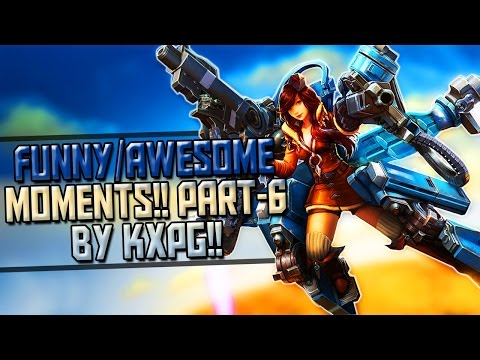 Vainglory - |Funny/Awesome Moments| |Part - 6| |By Kxpg|